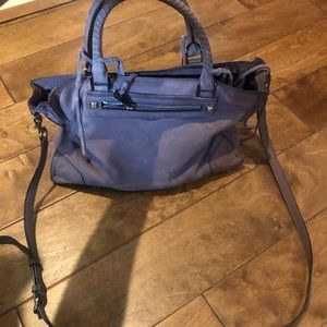 Rebecca Minkoff mauve shoulder bag with long strap